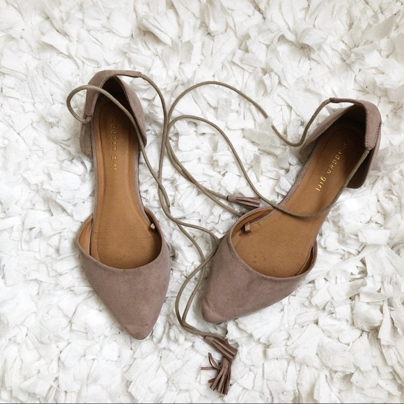 30e2a8a26 Madden Girl Shoes - Madden Girl Lace Up Flats